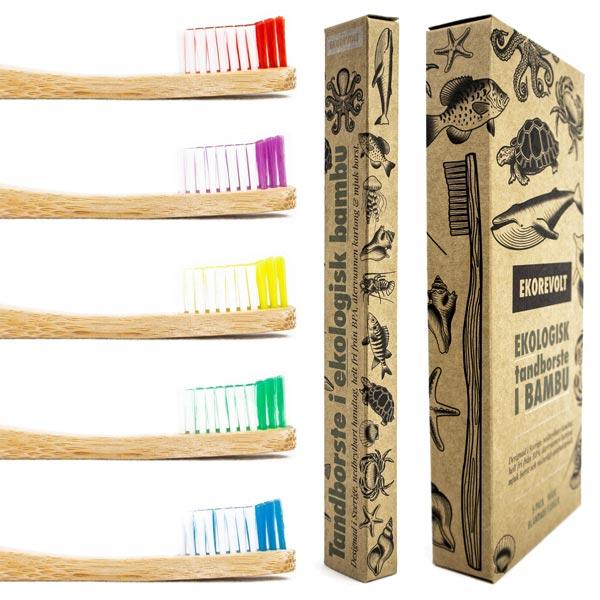 Ekologiska tandborstar är dom bästa borstarna